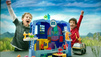 Imaginext Monsters University Scare Factory Playset TV Spot