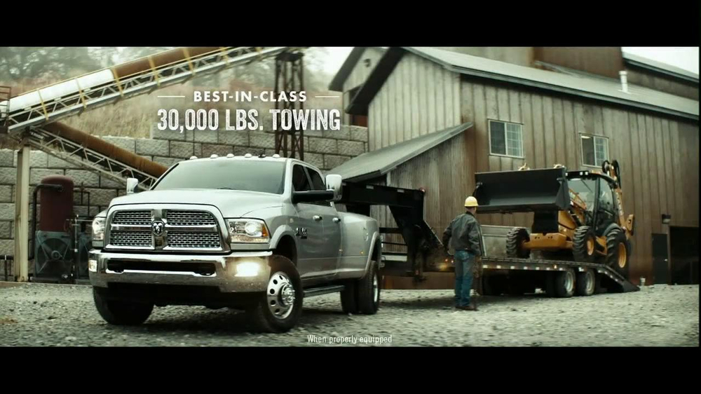 Ram Heavy Duty Trucks TV Commercial, 'Walk a Mile'