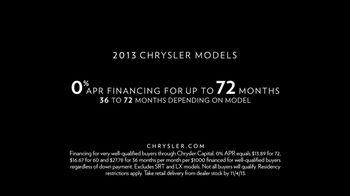 Chrysler TV Spot, 'Raising the Bar' - Thumbnail 10