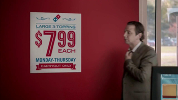 Domino's Pizza TV Spot,  'Weeknights Powered by Pizza' - Thumbnail 1