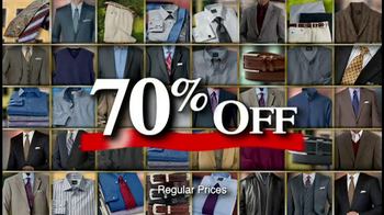 JoS. A. Bank TV Spot '70% Off Sale'