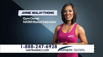 NASM Certified Personal Trainers TV Spot, 'Sports Medicine'