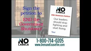 No Labels TV Spot, 'End Government Shutdown' - Thumbnail 10