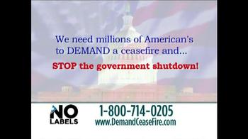No Labels TV Spot, 'End Government Shutdown' - Thumbnail 2
