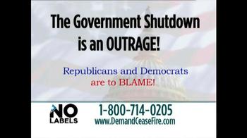 No Labels TV Spot, 'End Government Shutdown' - Thumbnail 3