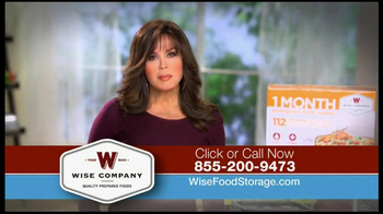 Wise Company TV Spot Featuring Marie Osmond