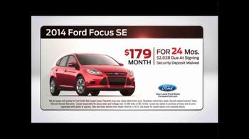 2014 Ford Focus SE TV Spot, 'Closer Look' - Thumbnail 5