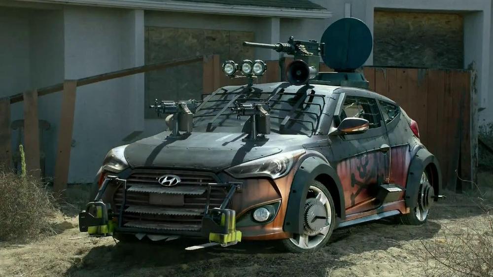 Hyundai TV Commercial, 'The Walking Dead Chop ShopSch' - iSpot.tv