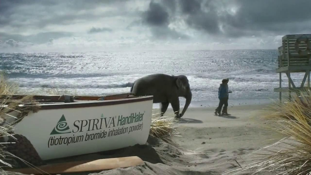 Spiriva TV Commercial, 'Beach'