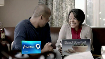 Chase Freedom TV Spot, 'Salad Bowl Set' - Thumbnail 3