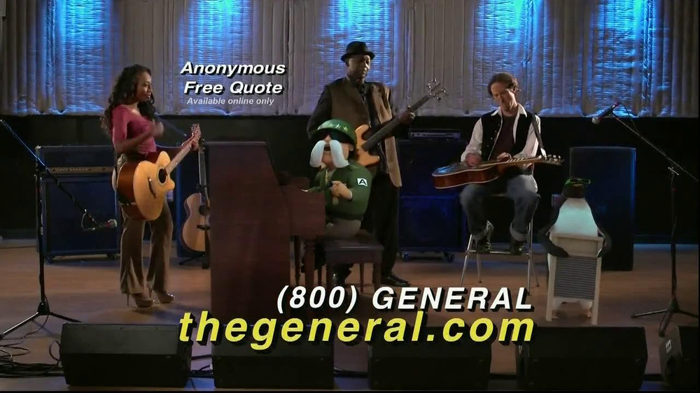 The General TV Commercial, 'Recording Studio'