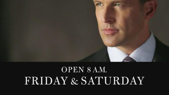 JoS. A. Bank Columbus Day Weekend Sale TV Spot - Thumbnail 9