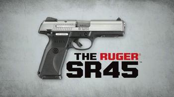 Ruger SR45 TV Spot