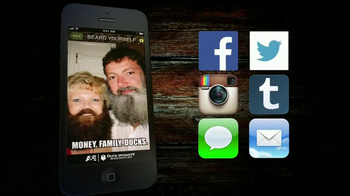 A&E Duck Dynasty Beard App TV Spot