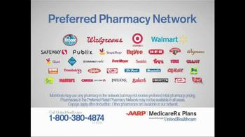 UnitedHealthcare AARP Saver Plus Medicare RX Plans TV Spot, 'Copays' - Thumbnail 7