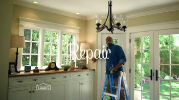 Lowe's TV Spot, 'Repair, Replace, Repaint'