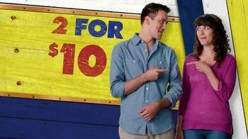 Long John Silver's 2 for $10 TV Spot