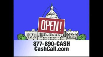 Cash Call TV Spot, 'Government Reopening'