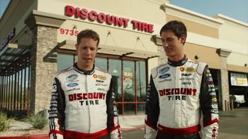 Discount Tire TV Spot, 'Not Real Actors' Feat. Joey Logano, Brad Keselowski - 3 commercial airings