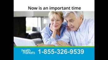 HealthMarkets Insurance Agency TV Spot, 'Medicare Benefits'