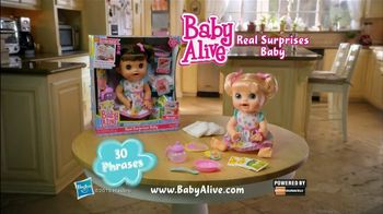 Baby Alive Real Surprises Baby TV Spot