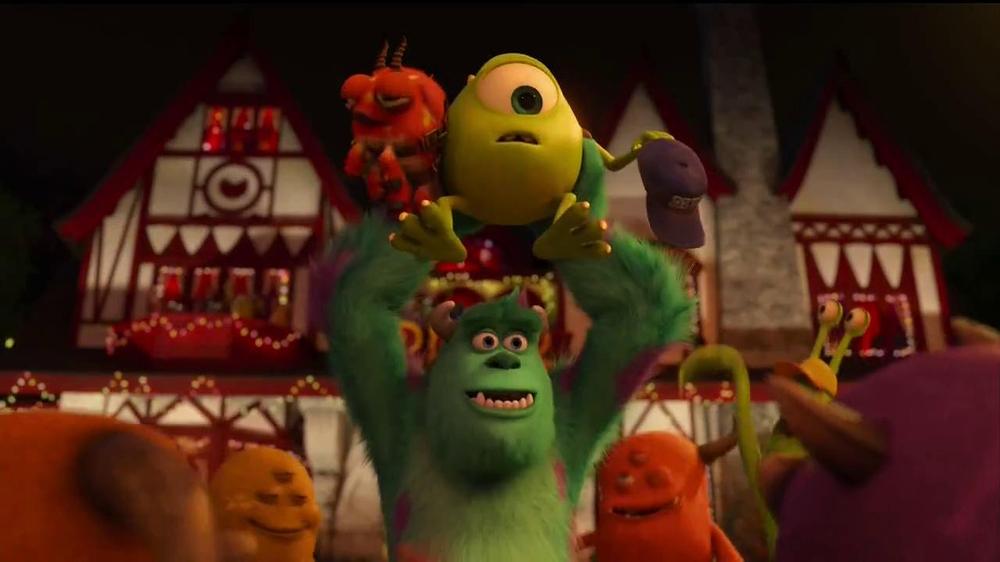 Monsters University Blu-ray TV Spot