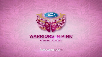 Ford Warriors in Pink TV Spot Featuring Christine Baranski