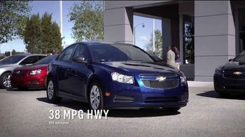 2014 Chevrolet Cruze LT TV Spot, 'Crazy'