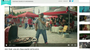 VISA TV Spot, 'Dance' Featuring Julio Jones - Thumbnail 1