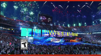 WWE 2K14 TV Spot, 'Wrestlemania' - 217 commercial airings