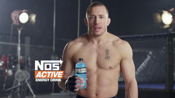 NOS Active TV Spot, 'Space' Featuring Georges St-Pierre - Thumbnail 9