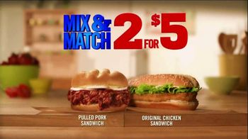 Burger King Pulled Pork Sandwich TV Spot, '2 for $5: What You're Craving' - Thumbnail 4