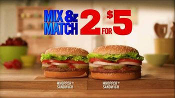 Burger King Pulled Pork Sandwich TV Spot, '2 for $5: What You're Craving' - Thumbnail 8