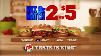 Burger King Pulled Pork Sandwich TV Spot, '2 for $5: What You're Craving' - Thumbnail 9