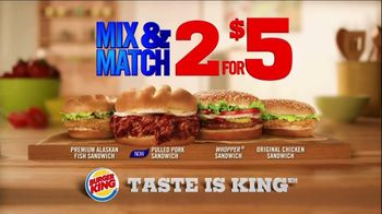 Burger King Pulled Pork Sandwich TV Spot, '2 for $5: What You're Craving'