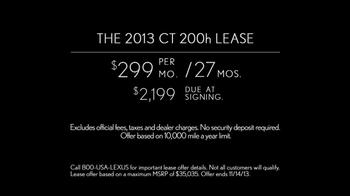 2013 Lexus CT TV Spot, '42 Miles' - Thumbnail 10