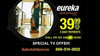 Eureka AirSpeed Ultra TV Spot