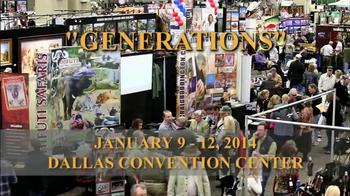 Dallas Safari Club Generations Convention & Sporting Expo TV Spot, 'Big' - Thumbnail 3