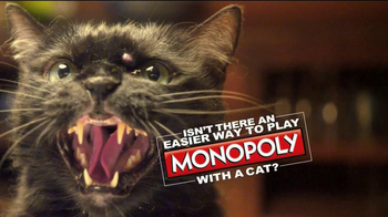 Monopoly TV Spot, 'Cat Piece'