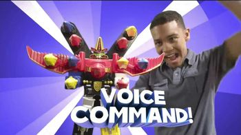 Power Rangers Megaforce Battle Fire Megazord TV Spot