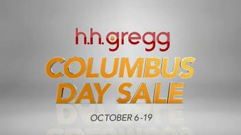 h.h. gregg Columbus Day Sale TV Spot