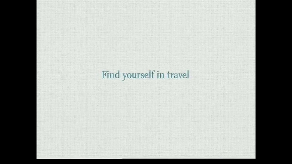 Korean Air TV Commercial, 'Find Yourself in Travel'