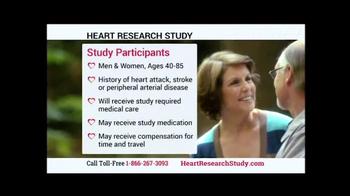 Heart Research Study TV Spot