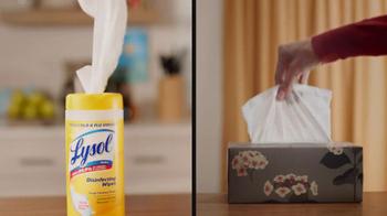 Lysol TV Spot, 'Cold and Flu Season' - Thumbnail 3