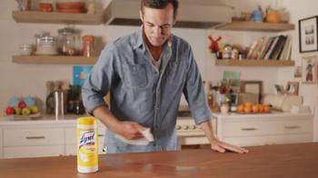 Lysol TV Spot, 'Cold and Flu Season' - Thumbnail 4