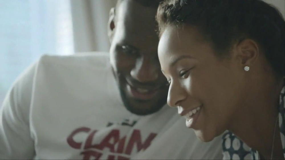 Samsung Galaxy TV Commercial, 'At Home' Featuring LeBron James