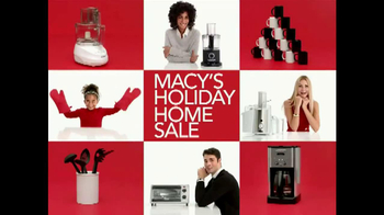 Macy's Holiday Home Sale TV Spot, 'Kitchenware' - Thumbnail 9