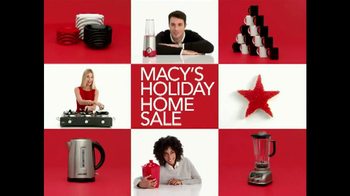 Macy's Holiday Home Sale TV Spot, 'Kitchenware' - Thumbnail 1