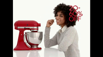 Macy's Holiday Home Sale TV Spot, 'Kitchenware' - Thumbnail 3
