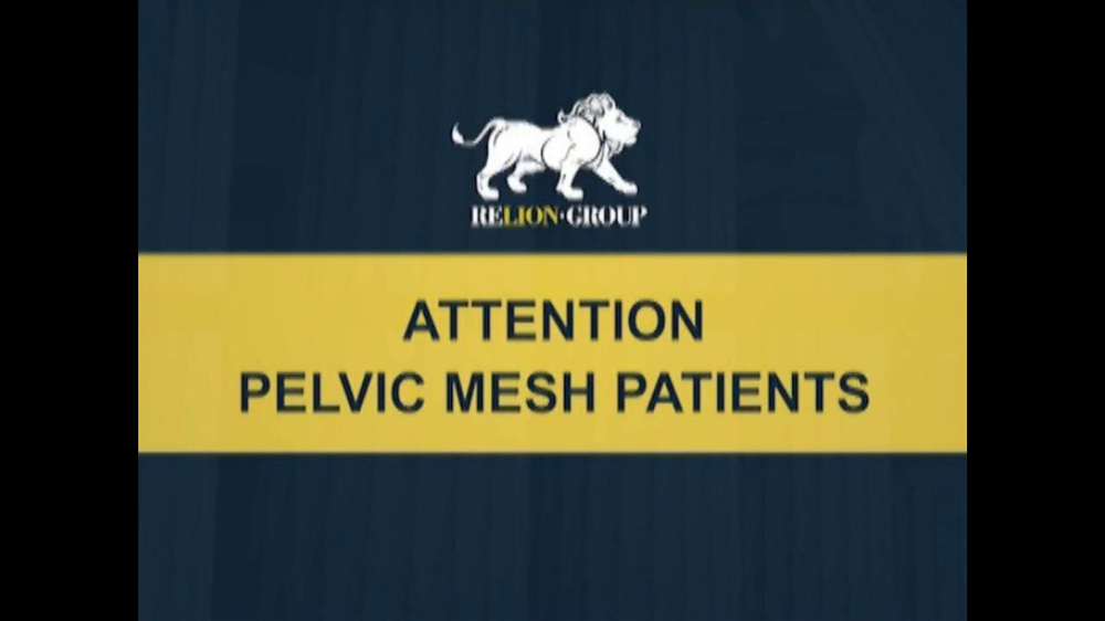 Pulaski Law Firm >> Relion Group TV Commercial, 'Pelvic Mesh' - iSpot.tv
